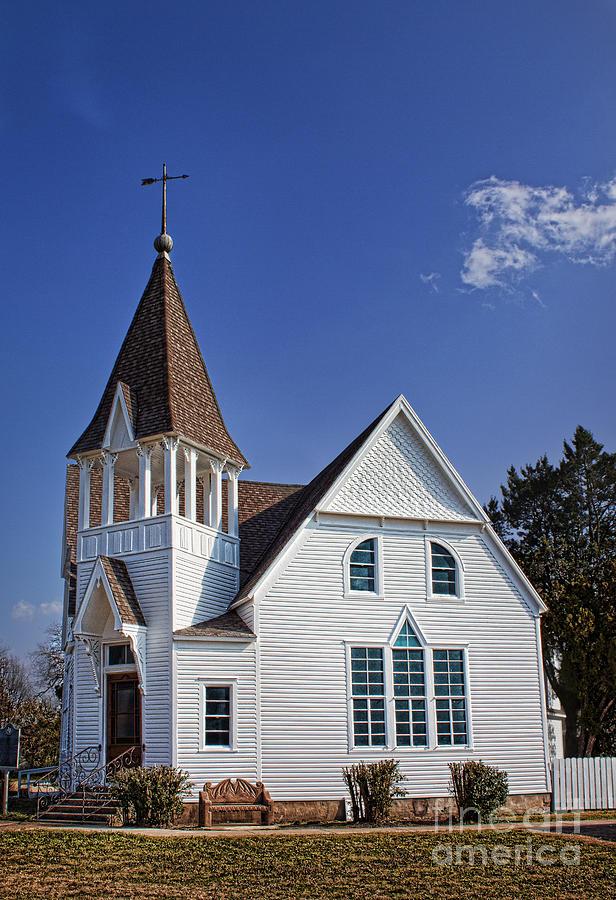 White Church Photograph - White Church by Elena Nosyreva