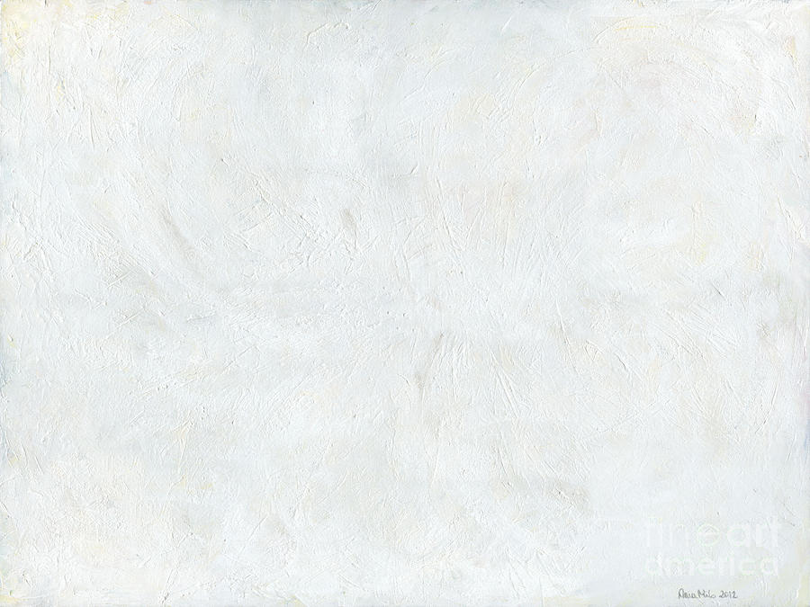 White Painting - White Color Of Energy by Ania Milo