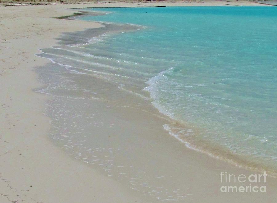 Bahamas Photograph - White Cove by Keri West