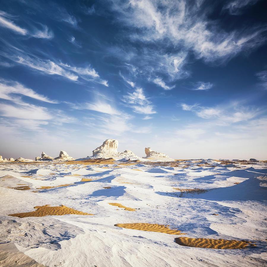 White Desert Photograph by Cinoby