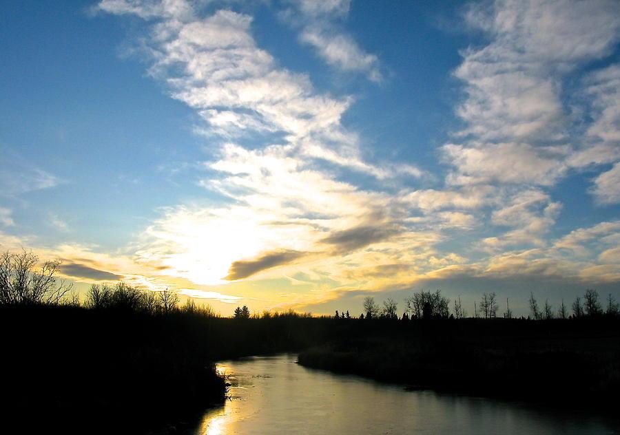White Earth River Photograph by Brian Sereda