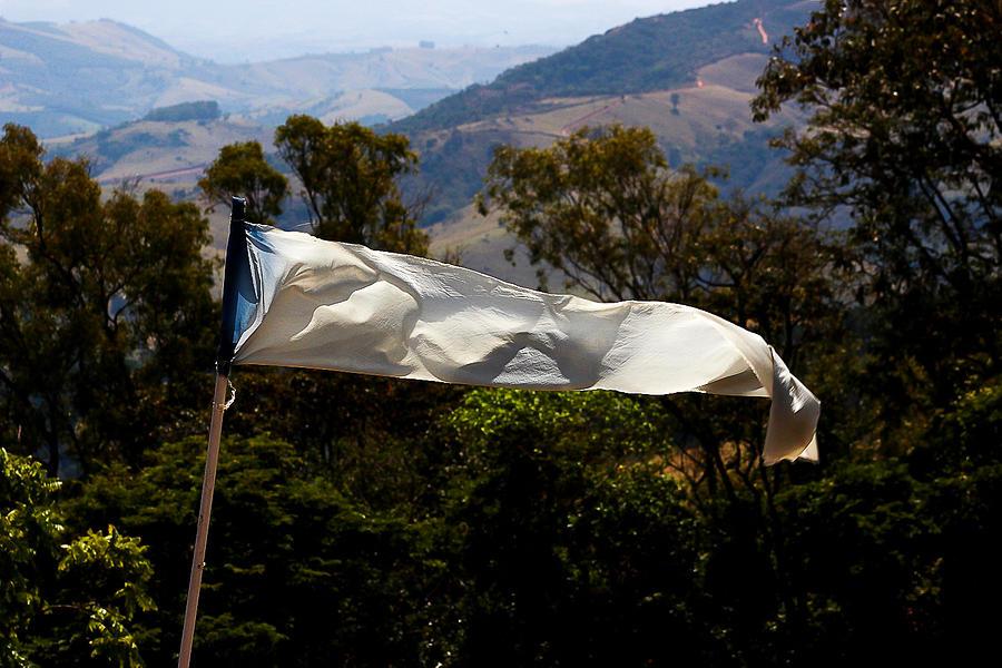 White Photograph - White Flag1 by Fabio Giannini