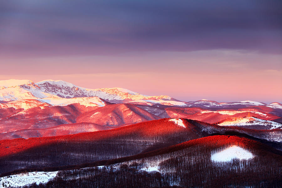 Balkan Mountains Photograph - White Heart by Evgeni Dinev