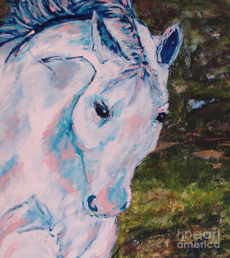 White Horse by Shelley Jones