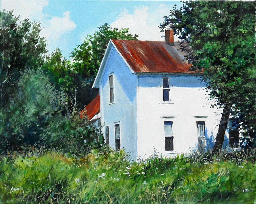 Landscape Painting - White House by William  Brody