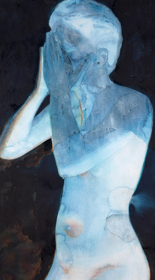 Nude Painting - White Lights I by Graham Dean