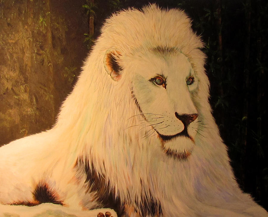 White Lion by Susan Duxter