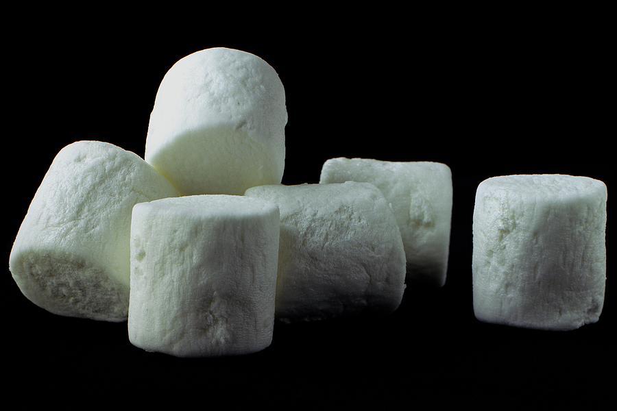 White Marshmallows Photograph by Romulo Yanes
