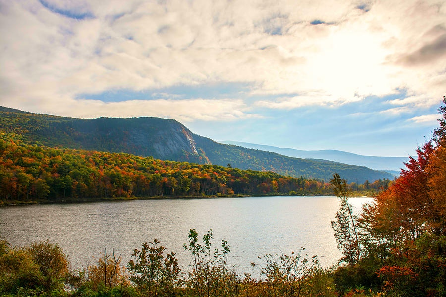New Hampshire Photograph - White Mountain Range by Sherman Perry