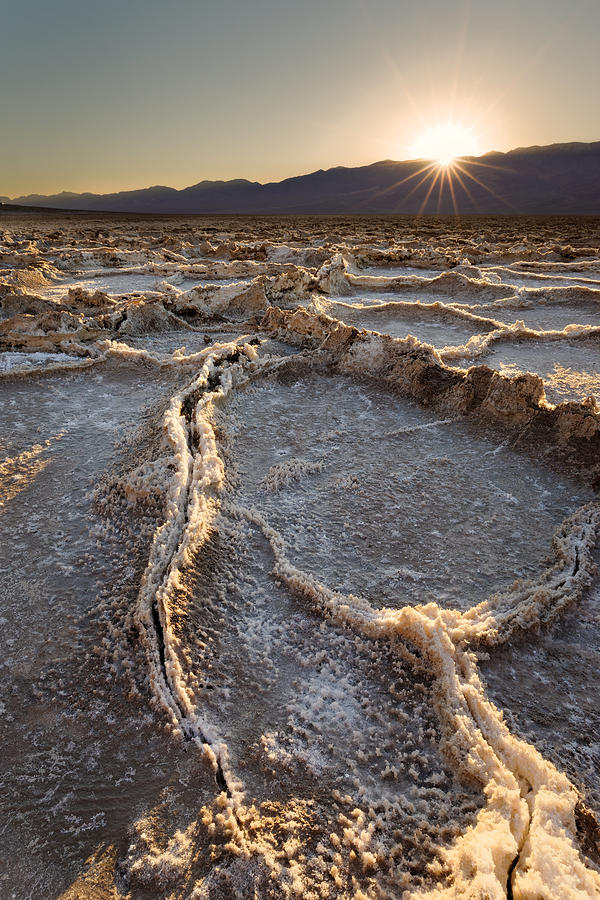 Badwater Basin Photograph - Death Valley - White Ocean by Francesco Emanuele Carucci