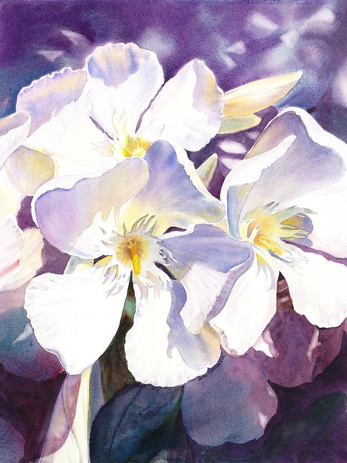 White oleander painting by irina sztukowski oleander painting white oleander by irina sztukowski mightylinksfo