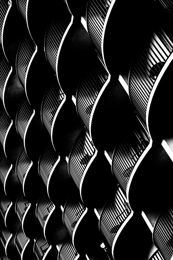 Building Photograph - White On Black by Edward Khutoretskiy