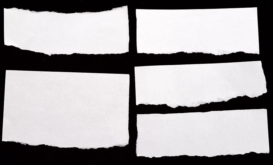 White Papers Photograph by Happyfoto