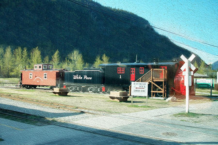 White Pass Railroad Photograph