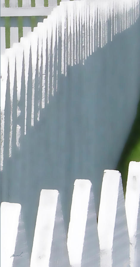 White Picket Fence 1 Photograph