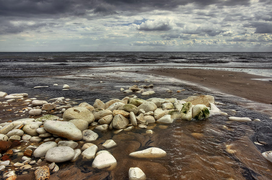 Bay Photograph - White Rocks by Svetlana Sewell