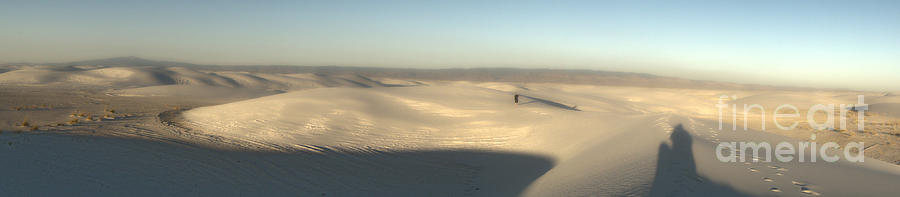 White Sands New Mexico Photograph - White Sands New Mexico Panorama by Gregory Dyer