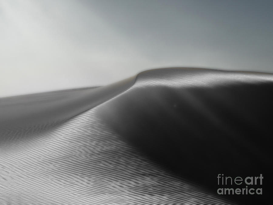 White Sands New Mexico Photograph - White Sands New Mexico Silver Dune by Gregory Dyer