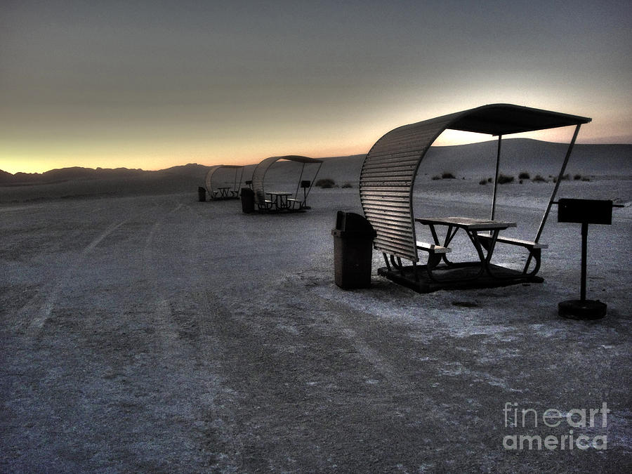 White Sands New Mexico Photograph - White Sands New Mexico Sunset Twilight 02 by Gregory Dyer