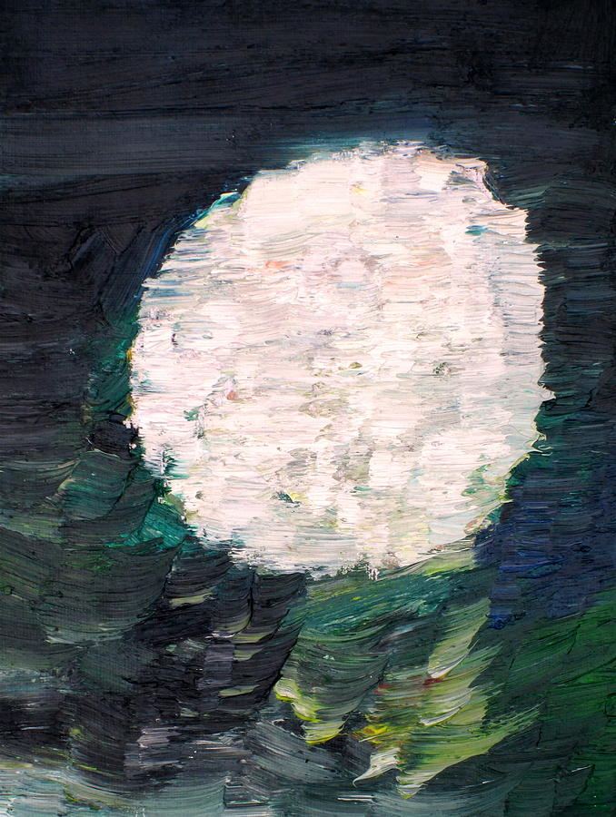 Sphere Painting - White Sphere by Fabrizio Cassetta