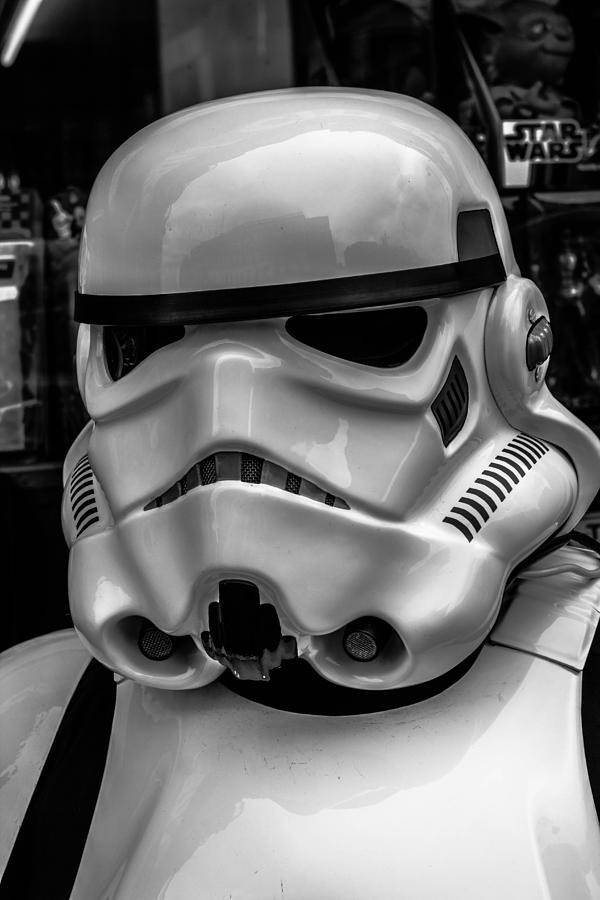 White Storm Trooper Photograph - White Stormtrooper by David Doyle