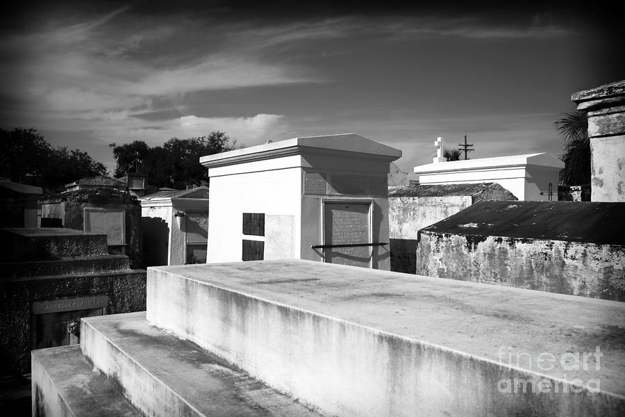 White Tomb Photograph - White Tombs by John Rizzuto
