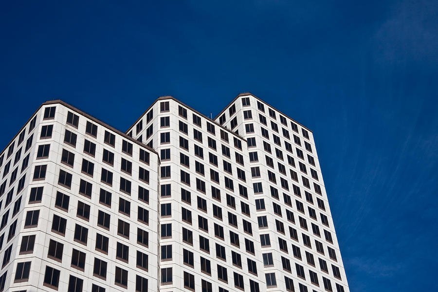 Architecture Photograph - White Towers by Mark Weaver