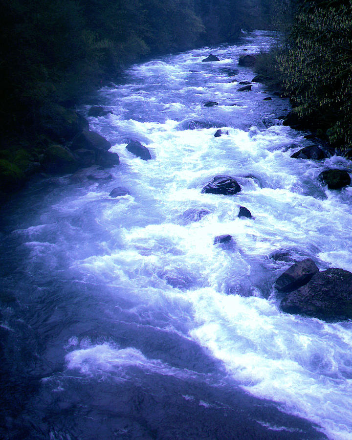 Beautiful Photograph - White Water by J D Owen