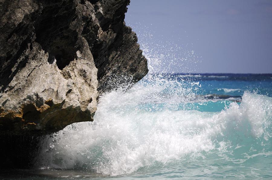 Bermuda Photograph - White Water Paradise by Luke Moore