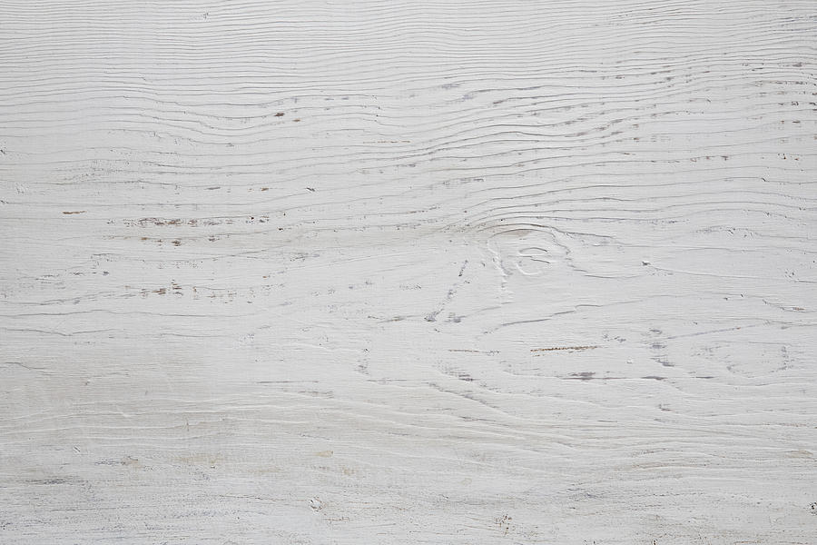 White Wood Texture Background Photograph by Katsumi Murouchi