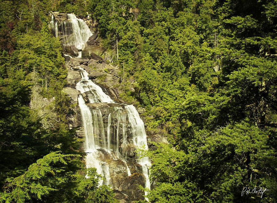 Appalachian Mountains Photograph - Whitewater Falls by Phill Doherty