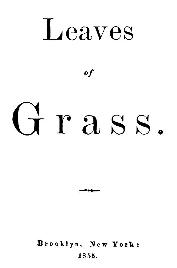 19th Century Painting - Whitman Leaves Of Grass by Granger