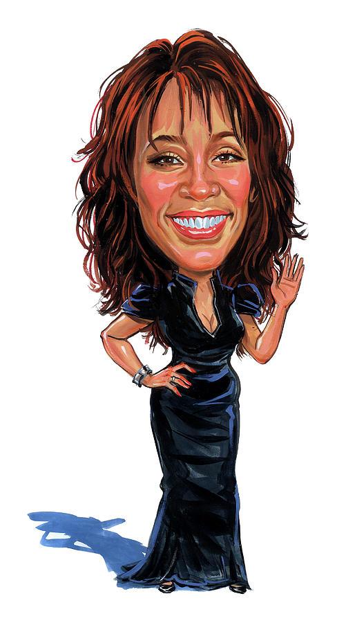 Whitney Houston Painting - Whitney Houston by Art
