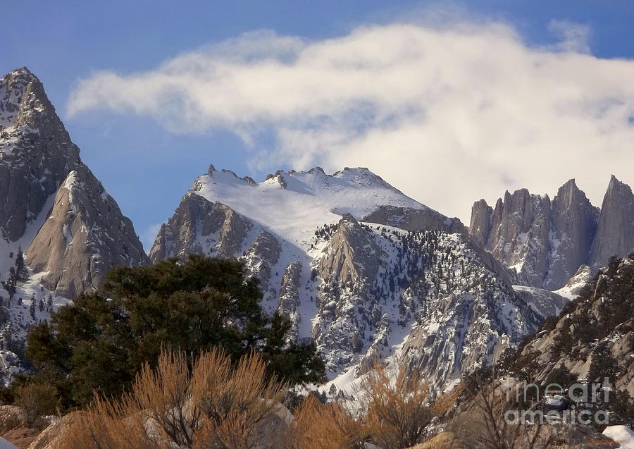 Mount Whitney Photograph - Whitney Portal - California by Glenn McCarthy Art and Photography