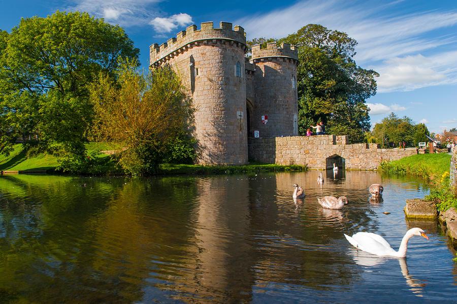 Whittington Photograph - Whittington Castle by David Ross
