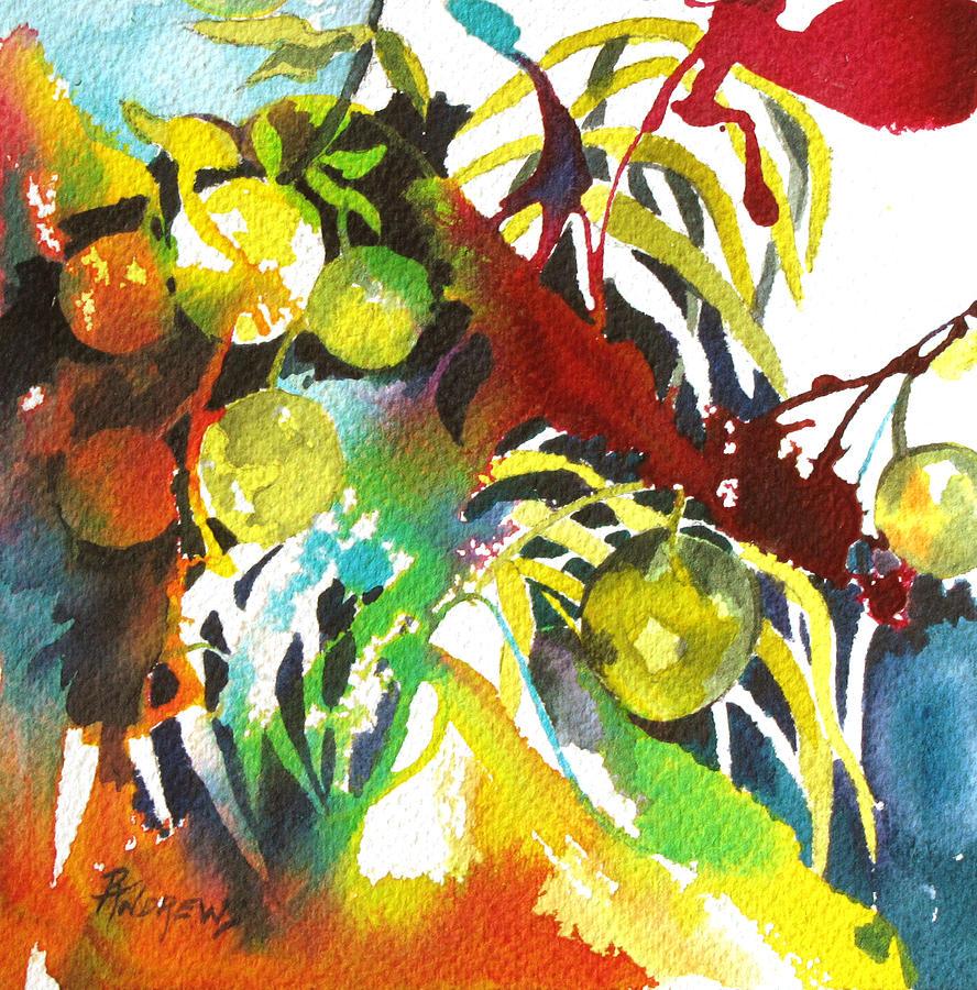 Lemons Painting - Who Wants Lemonade by Rae Andrews