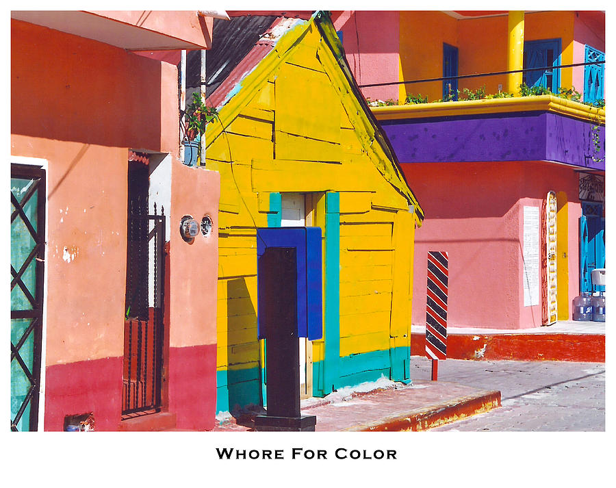 Colors Photograph - Whore For Color by Lorenzo Laiken