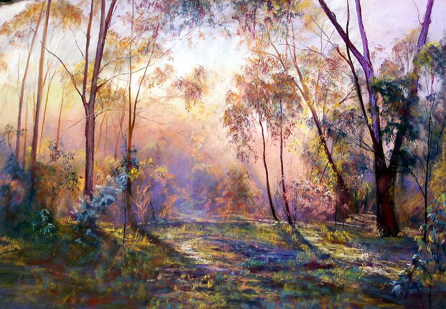 Landscape Pastel - Why I Live Where I Live by Lynda Robinson