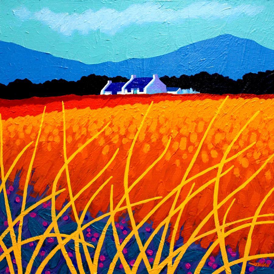 Landscape Painting - Wicklow Hills by John  Nolan