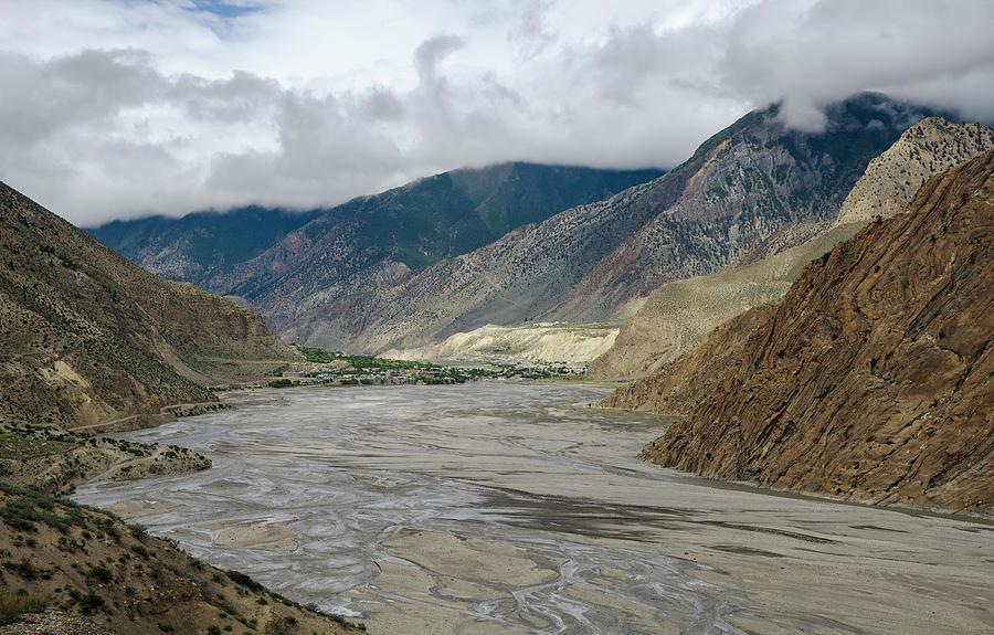 Wide Angle View Of Kali Gandaki Photograph by Sergey Orlov / Design Pics