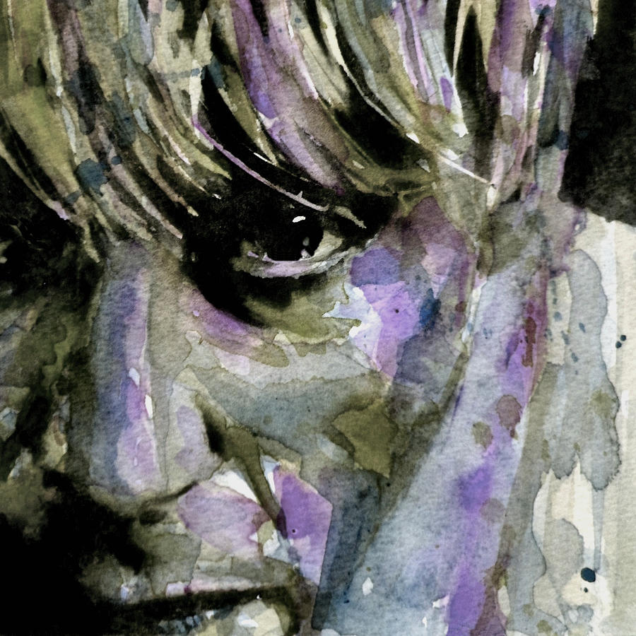 Boy Painting - Wide Eyed Boy From Freecloud by Paul Lovering