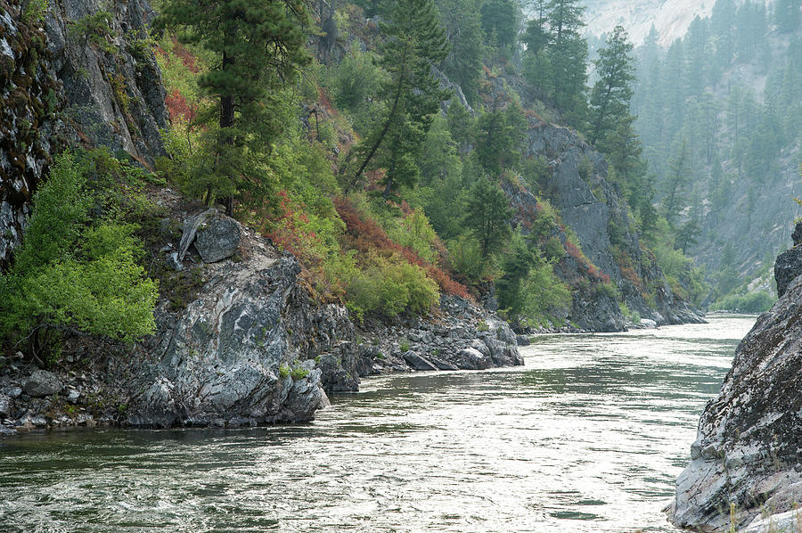 Wide Green River Canyon Photograph by Stuart Mccall