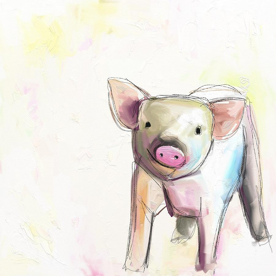 Pig Photograph - Wilber by Cathy Walters