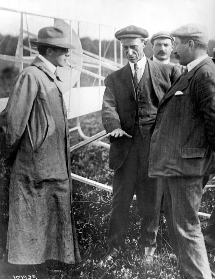 Science Photograph - Wilbur Wright, 1908 by Science Source