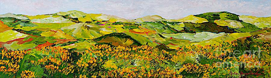 Landscape Painting - Wild And Robust by Allan P Friedlander