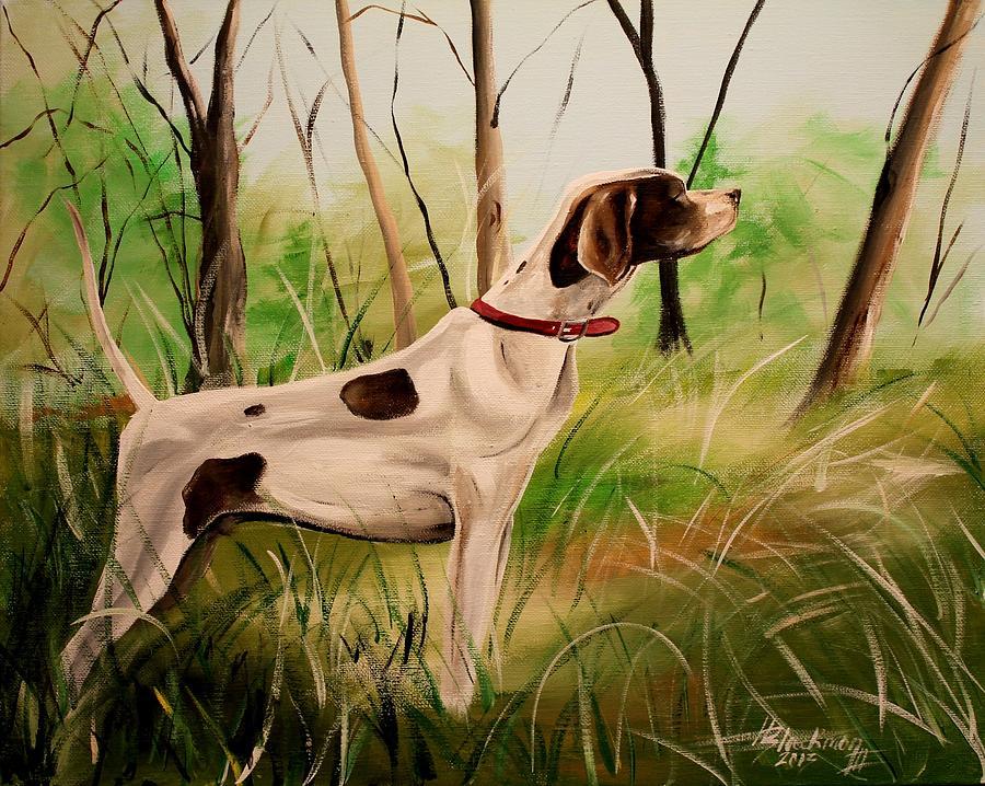 Animal Painting - Wild Apple Deuce by Henry Blackmon