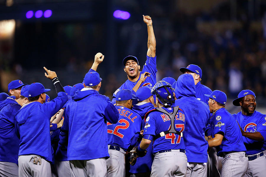 Wild Card Game - Chicago Cubs V Photograph by Jared Wickerham