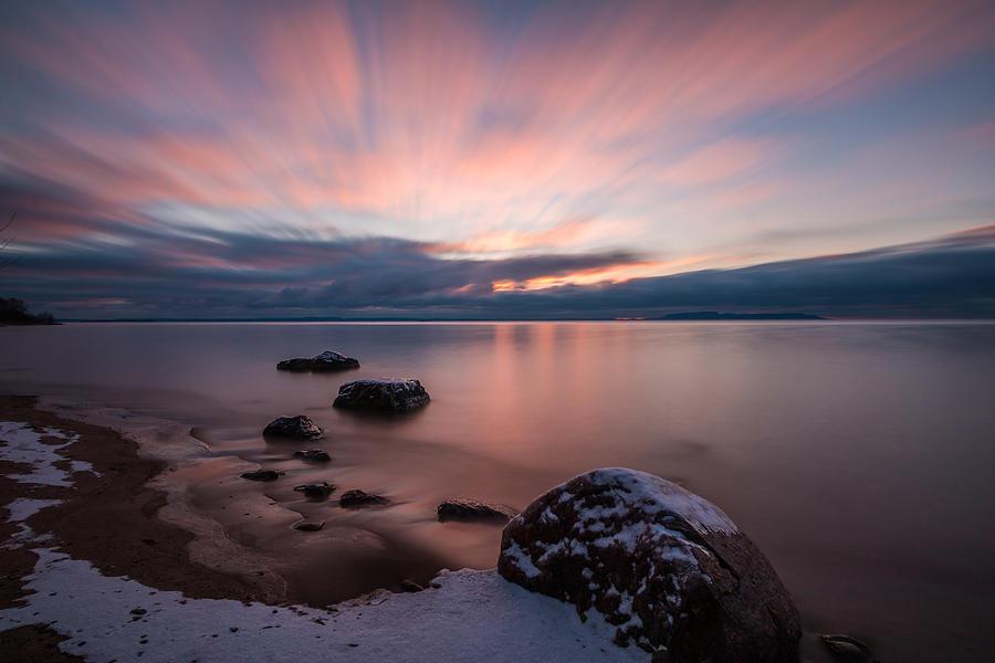 Sunrise Photograph - Wild Goose Sunrise by Linda Ryma