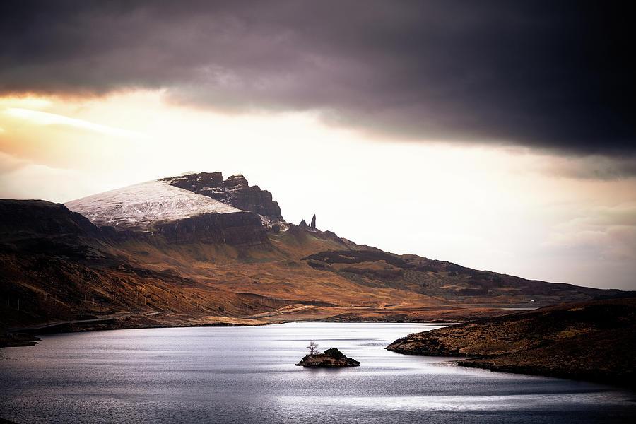 Wild Nature Landscape In Scotland, Isle Photograph by Zodebala