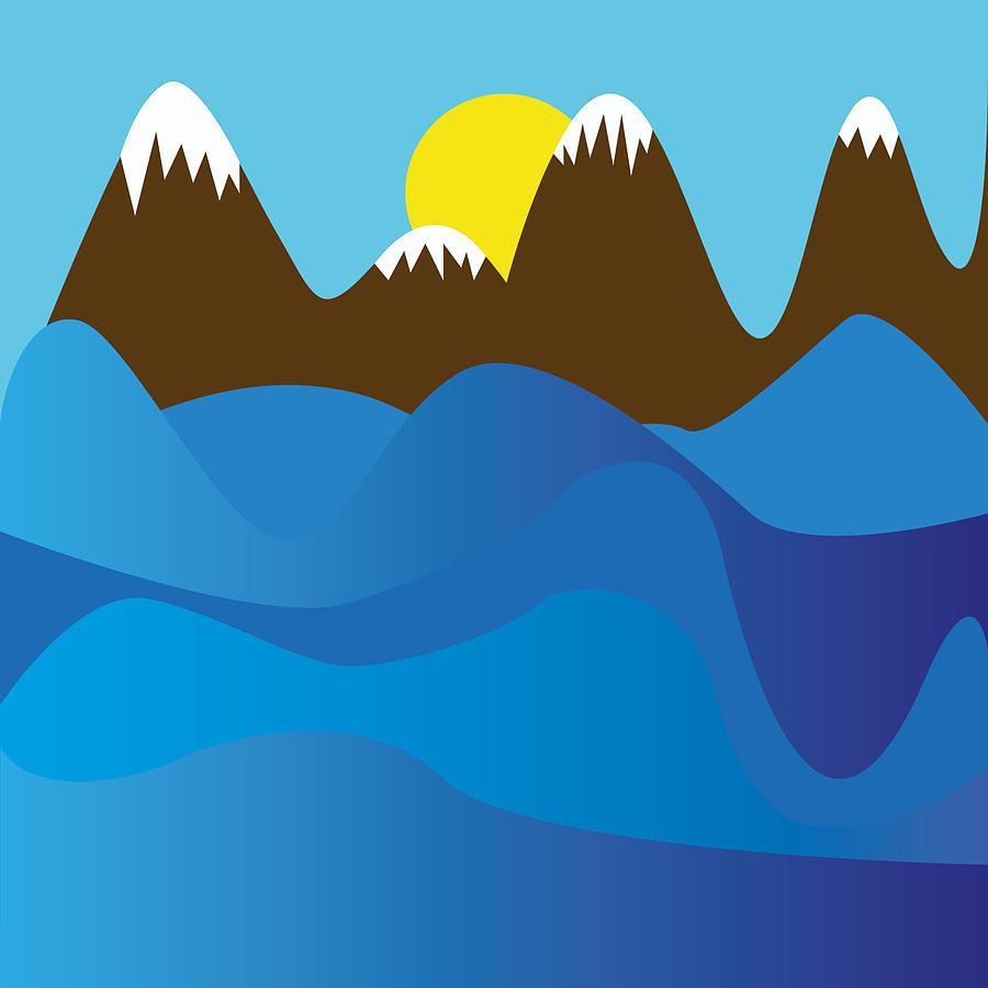 Ocean Digital Art - Wild Ocean by Kenneth Feliciano